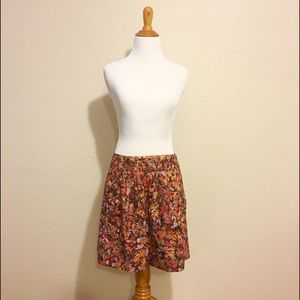 J.Crew mini skirt size 8